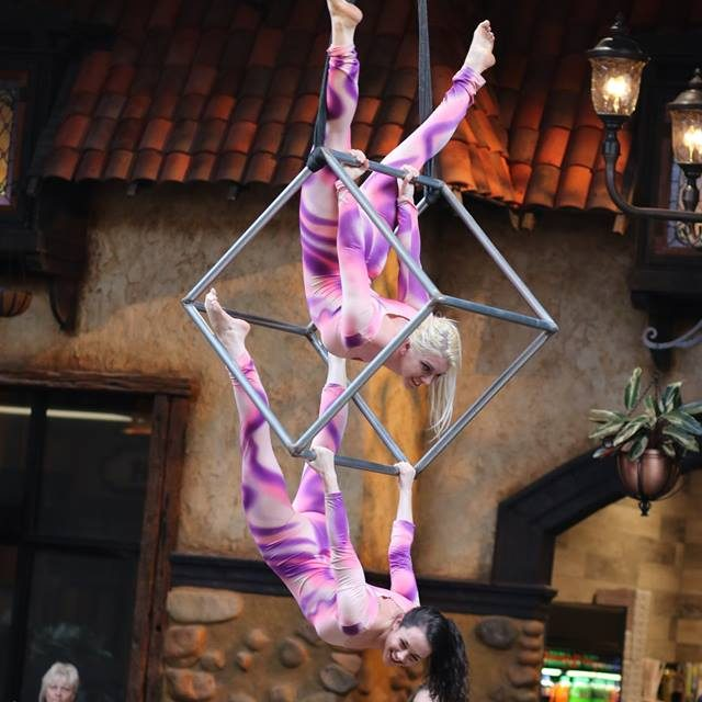 Beyond Wings aerialist