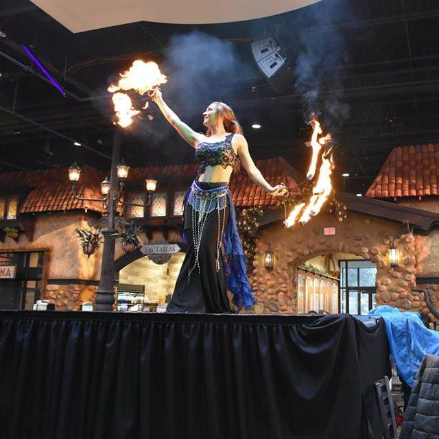Beyond Wings Fire Dance Saturday Performances