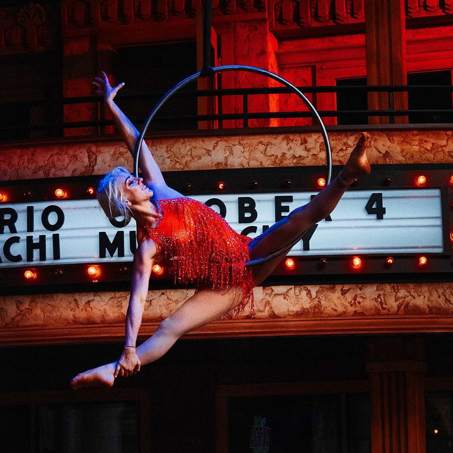 Aerial Acrobats by Beyond Wings Circus