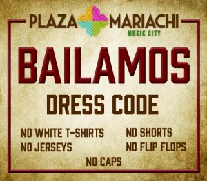 Bailamos Dress Code