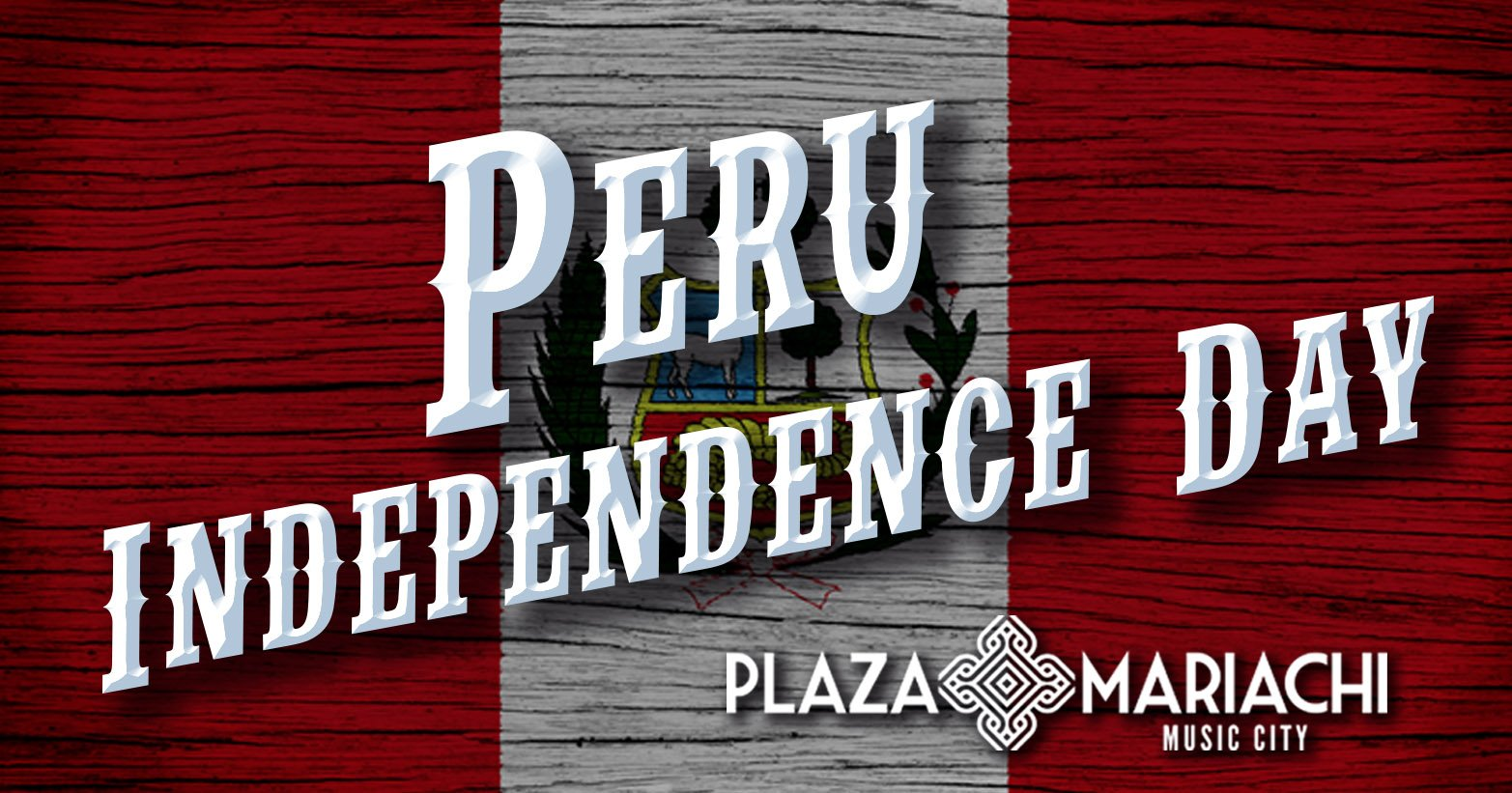 Peruvian Independence Day Celebration Plaza Mariachi