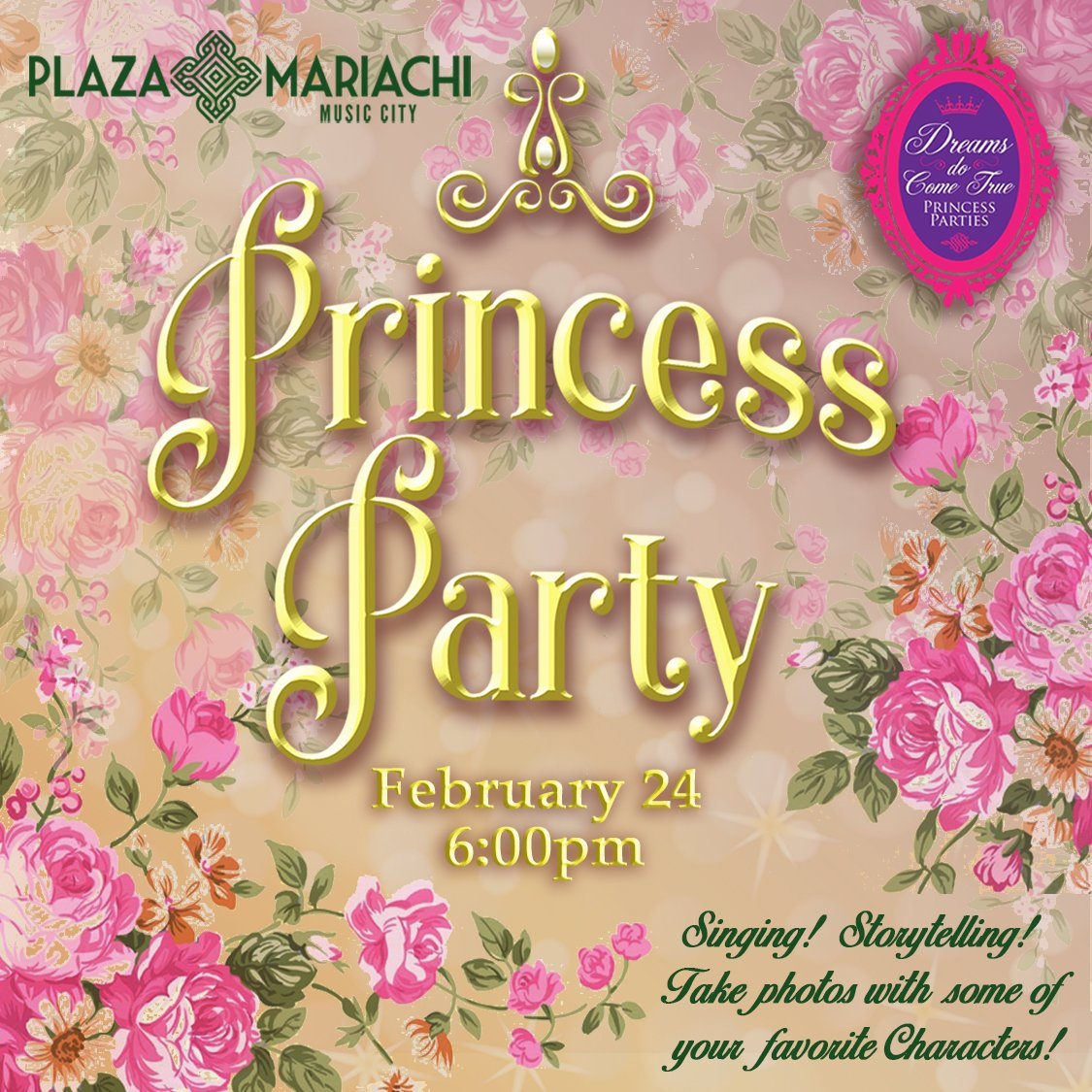 Character Princess Party