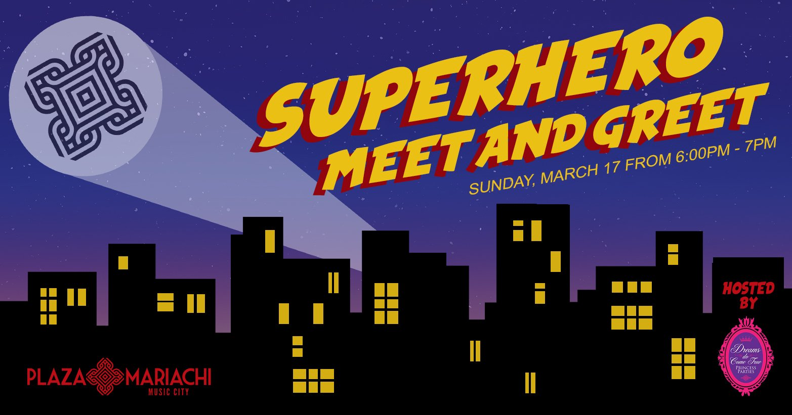 Superhero meet and greet