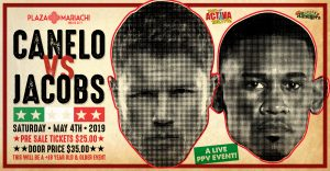 Canelo vs Jacobs PPV Viewing Party Event