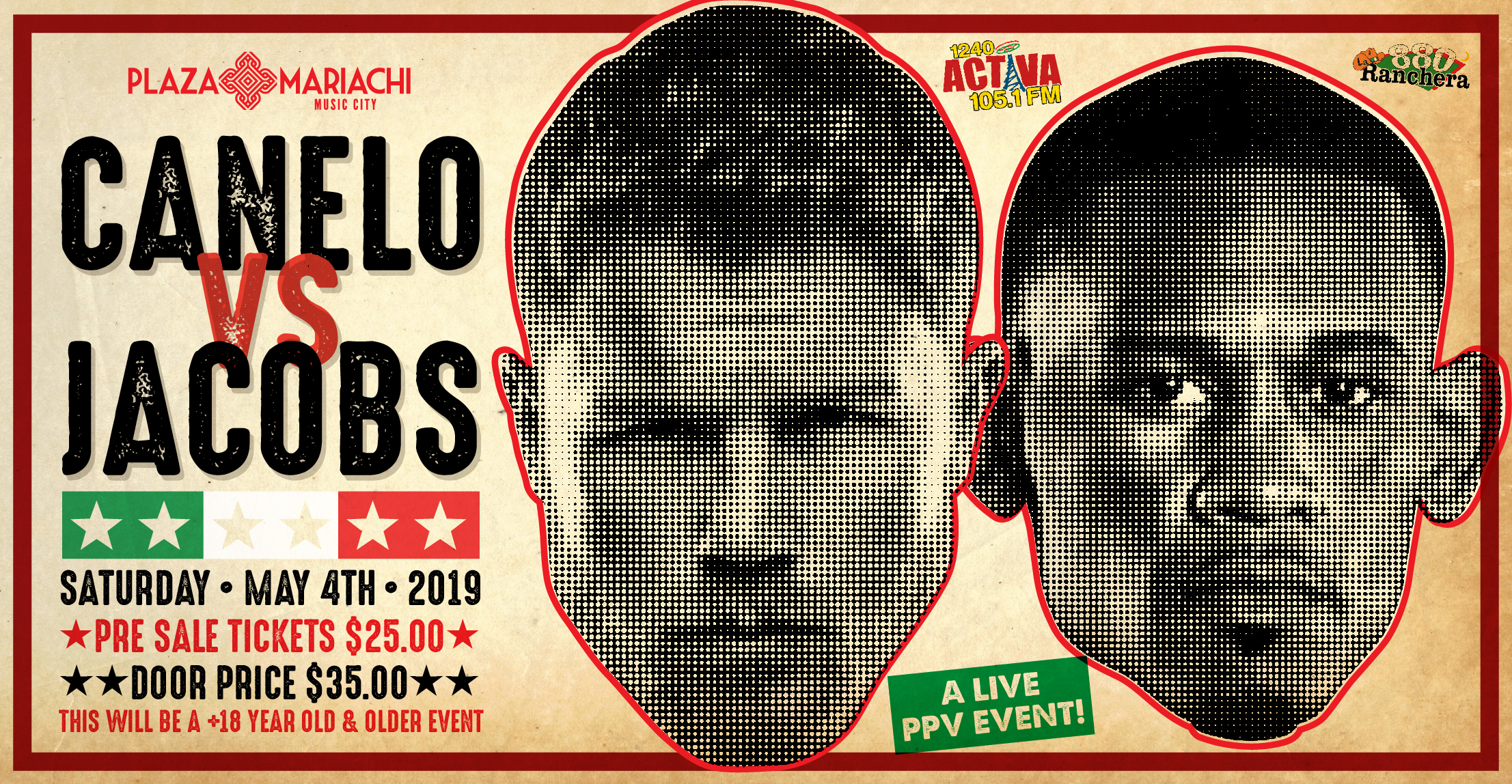 Canelo Fight on LED Screen