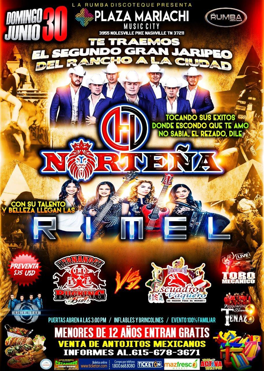 Gran Jaripeo Baile | Plaza Mariachi | Outdoor Rodeo, Concert