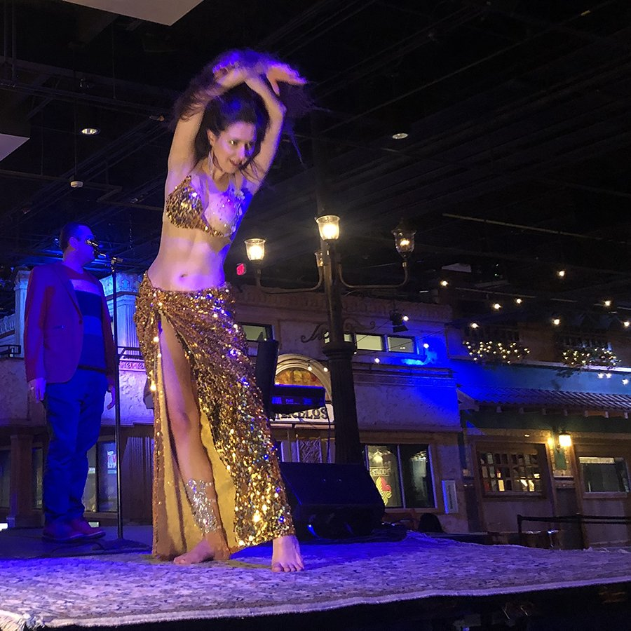 Belly Dance Live Performance