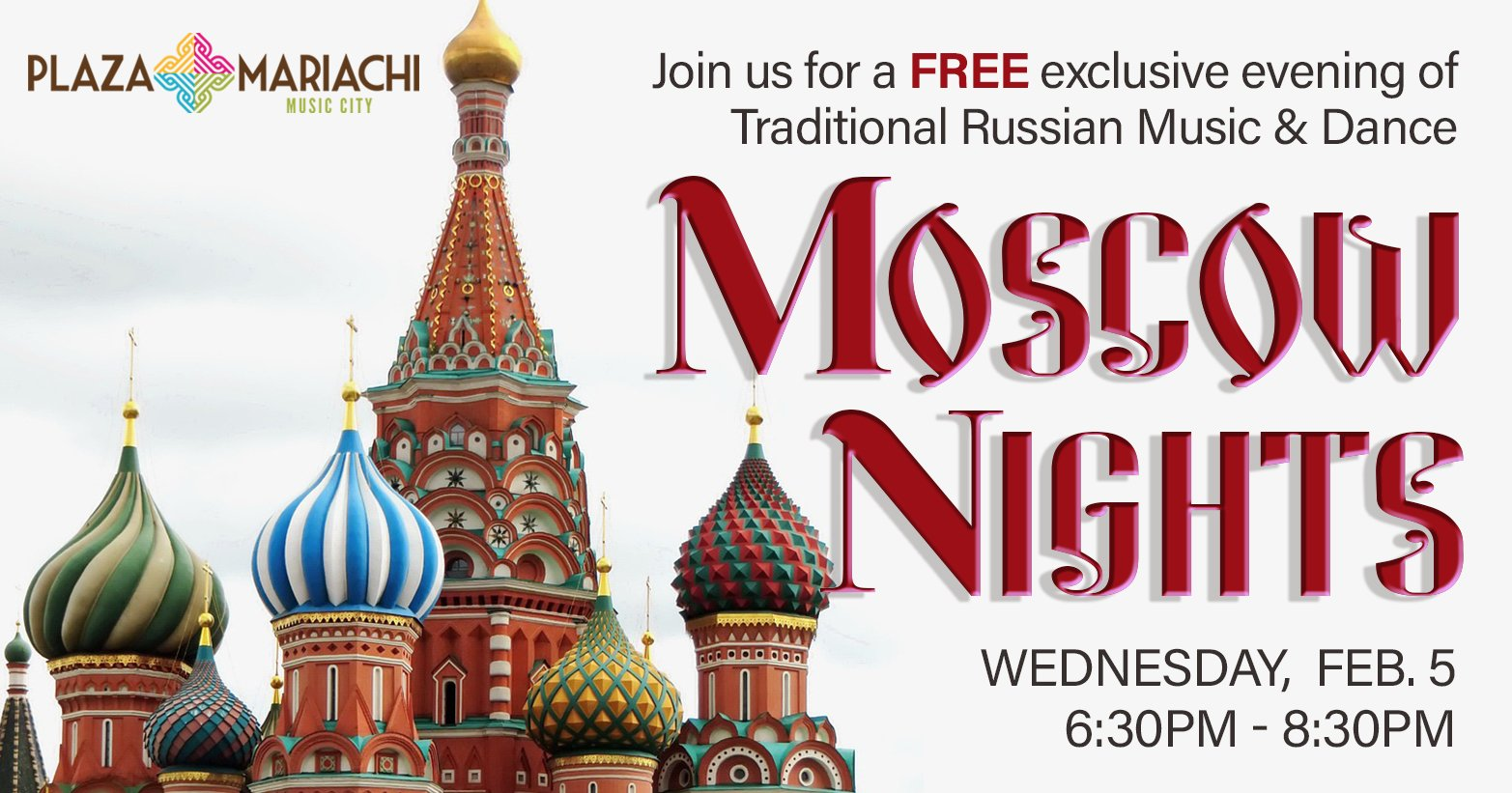 Moscow Nights Music and Dance