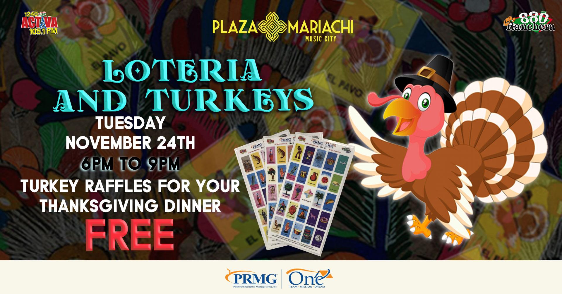 Loteria Turkey Give Away