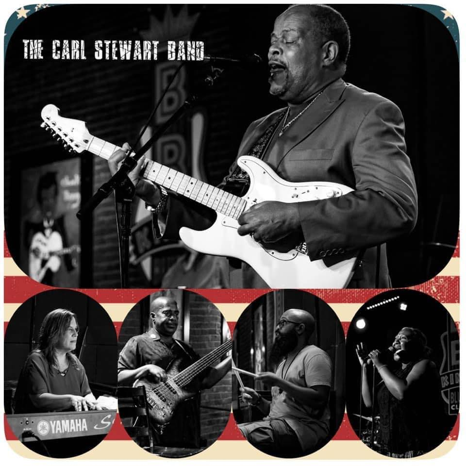 Blues Band Carl Stewart